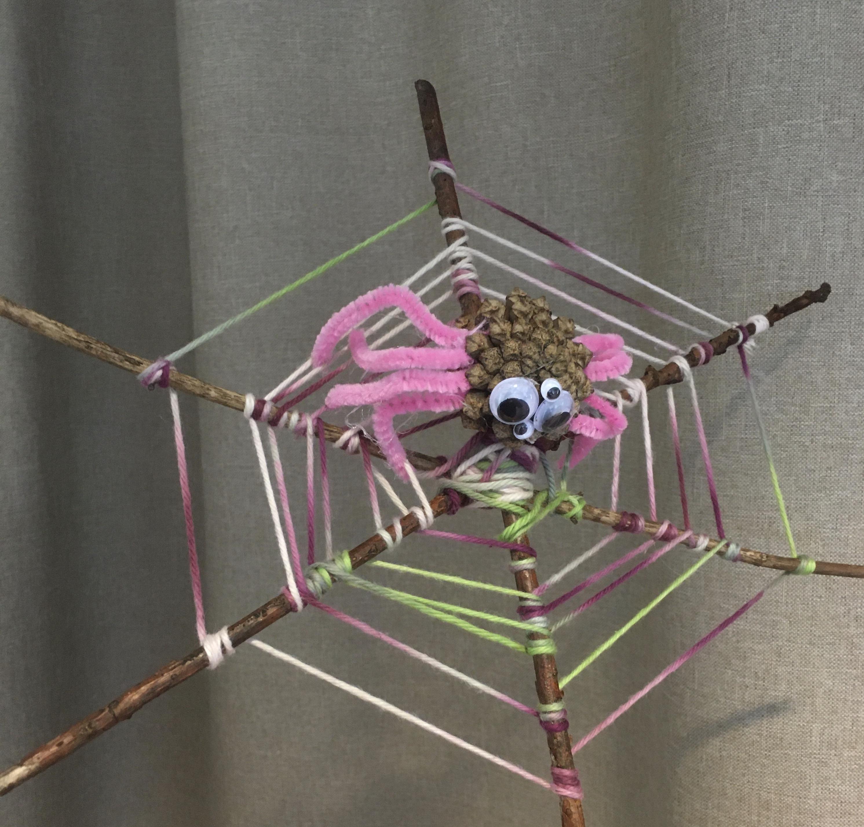 Spindelpyssel är kul